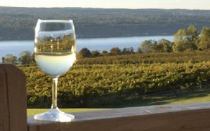 Sceneca Lake wine glass